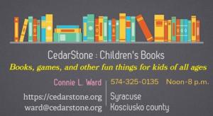 CedarStone business card