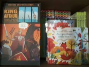 Just a few of our newest books - publisher is Usborne & Kane Miller